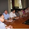 Meeting of municipality leaders on 9th of Augusts 2011